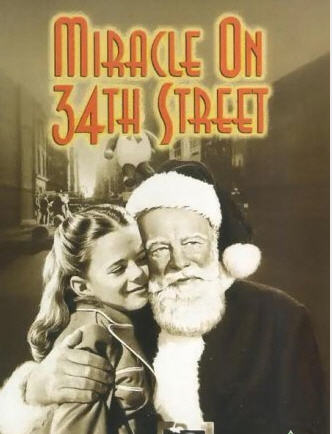 miracxle on 34th street 1947 movie poster